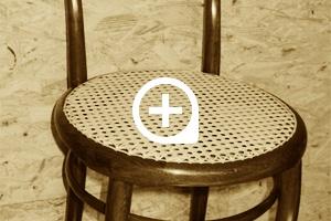 Stuhl, um 1840, kein Thonetprodukt