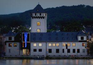 MUSENZOPF – Lichtinstallation an der Kurfürstliche Burg Boppard