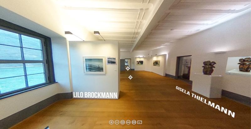 GEDOK - Virtuellen Rundgang durch die Ausstellung ansehen.